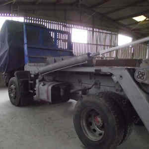 Lorry Chassis Sandblasted<br>