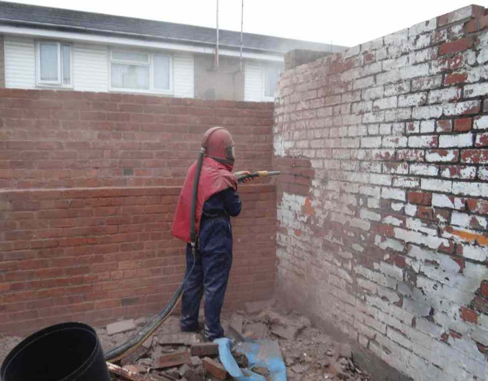 Brickwork Sandblasting and Brick Cleaning Service