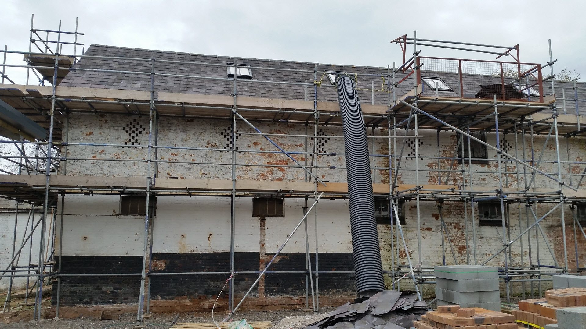 Exterior House Paint Removal Sandblasting Wirral Liverpool Manchester Uk
