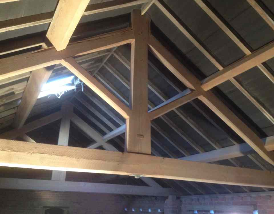 Barn Conversion Sandblasting Cheshire
